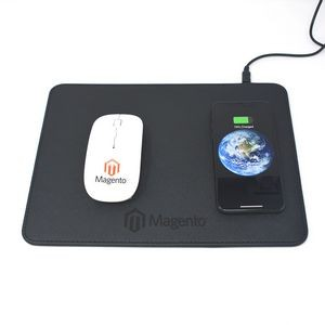 Mouse Qi - Mouse Pad with Qi Wireless Charger