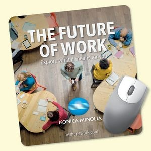 "Origin'L Fabric® 7.5""x8""x1/8"" Antimicrobial Mouse Pad"